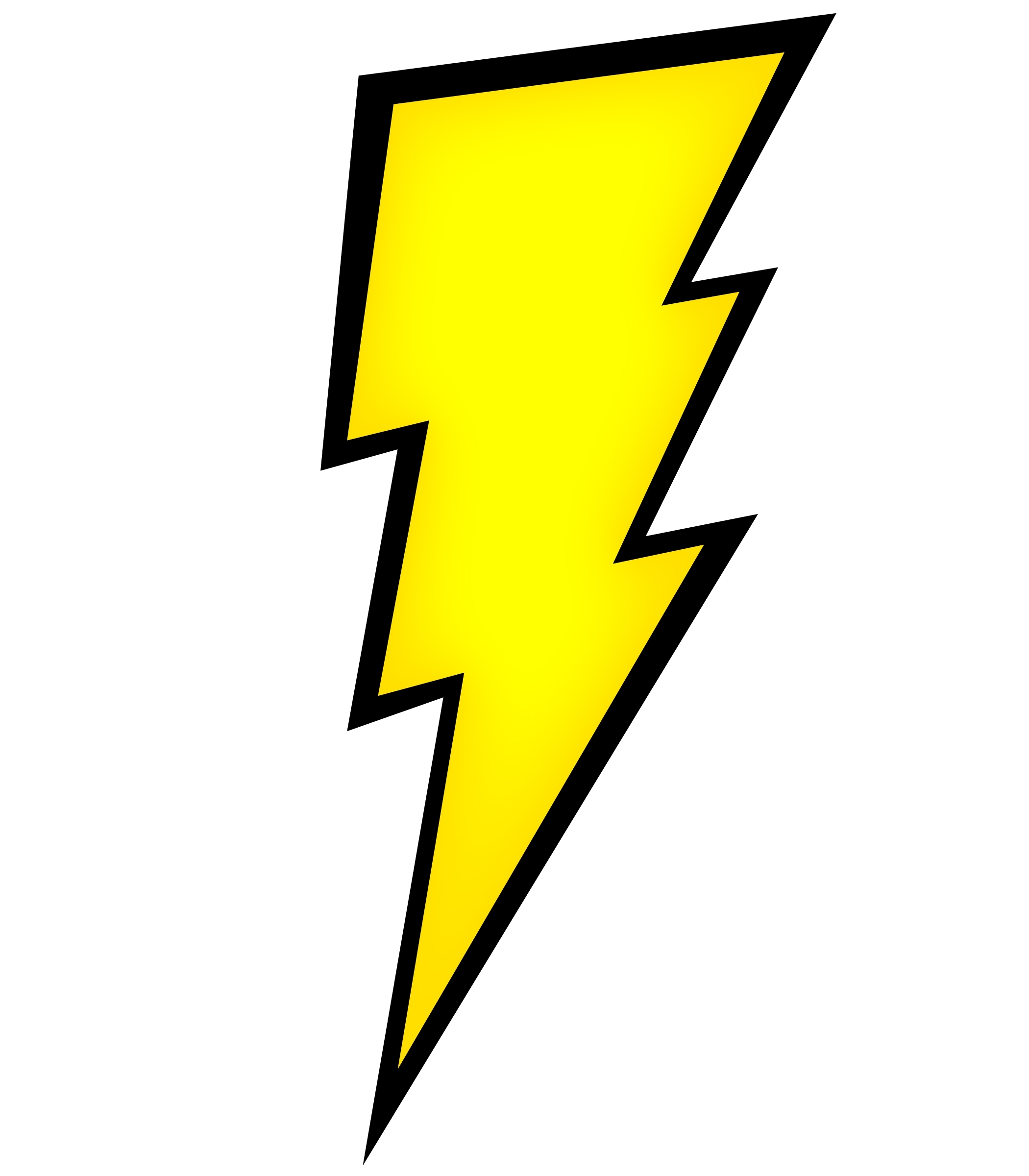 Lightning Bolt Clipart In Vector Clipart Panda Free