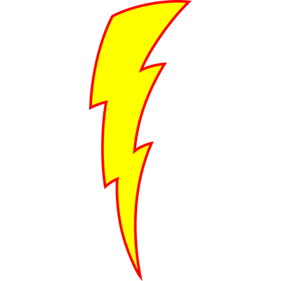 Flash Lightning Bolt Logo