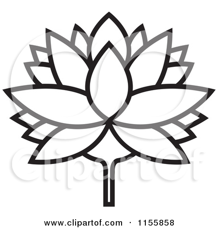 Lily Pad Clipart Black And White | Clipart Panda - Free ...