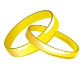 Linked Wedding Rings Clipart Clipart Panda Free