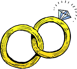 Clip Art Clip Art Ring linked wedding rings clipart panda free images