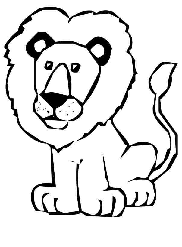 Lion Clipart Black And White | Clipart Panda - Free ...
