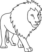 Lion Clip Art Black And White | Clipart Panda - Free ...
