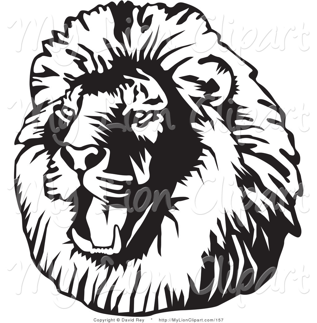 lion%20clipart%20black%20and%20white
