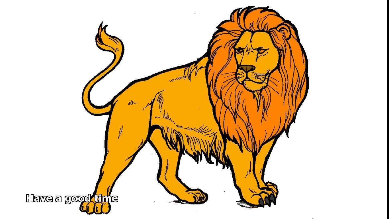 Lion images for kids