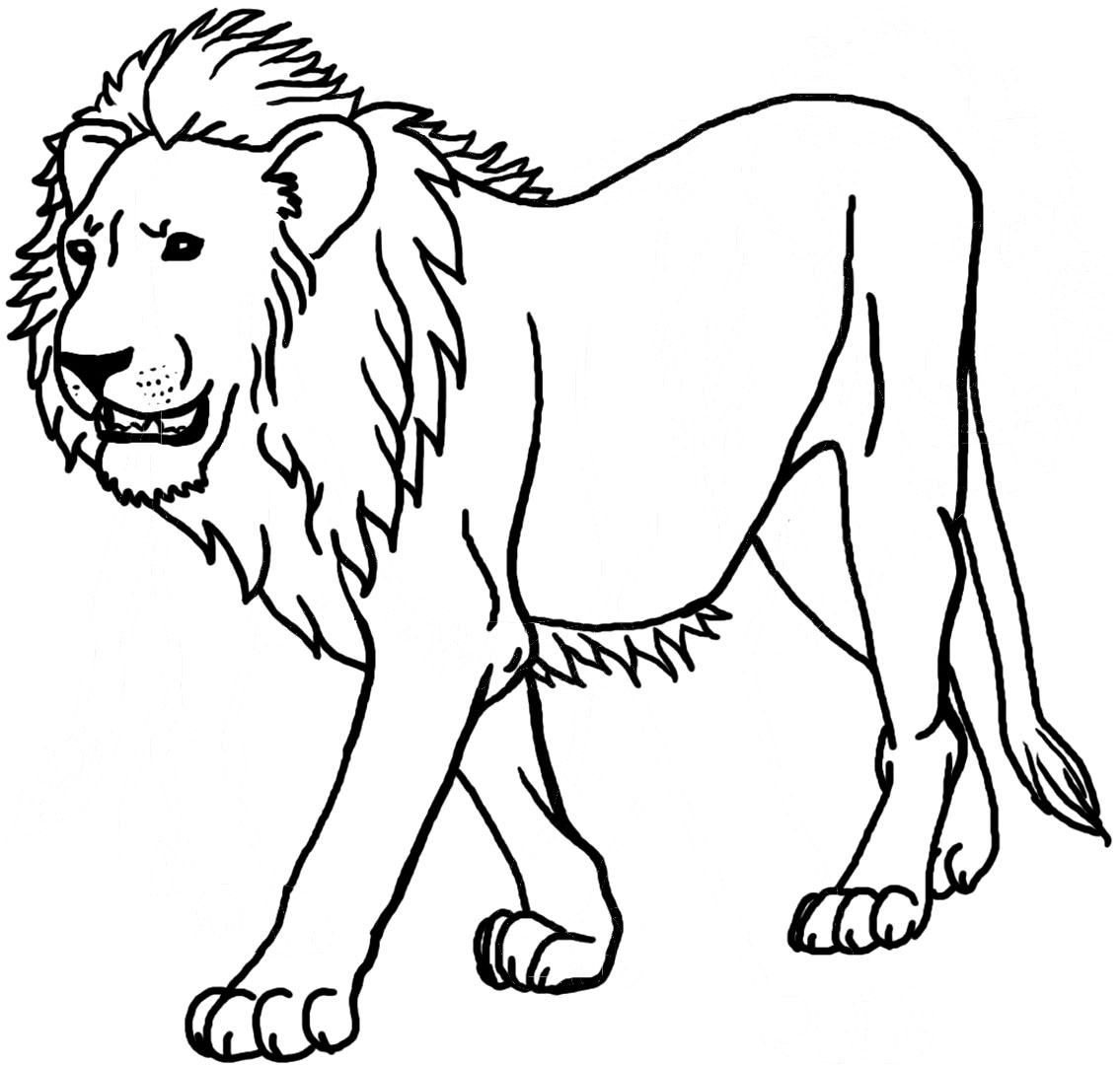 lion coloring pages clipart panda free clipart images