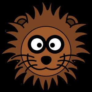 lion head silhouette clip art clipart panda free clipart images rh clipartpanda com baby lion face clipart roaring lion face clipart