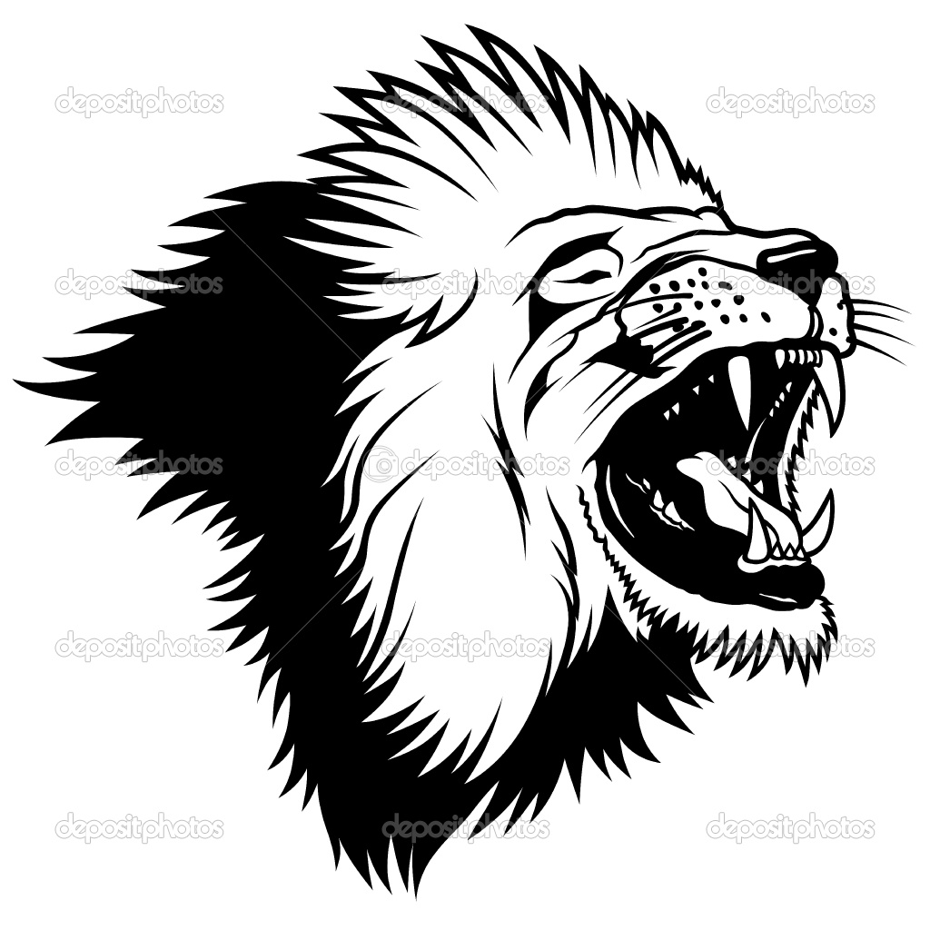 Lion Roaring Drawing | Clipart Panda - Free Clipart Images - photo#49