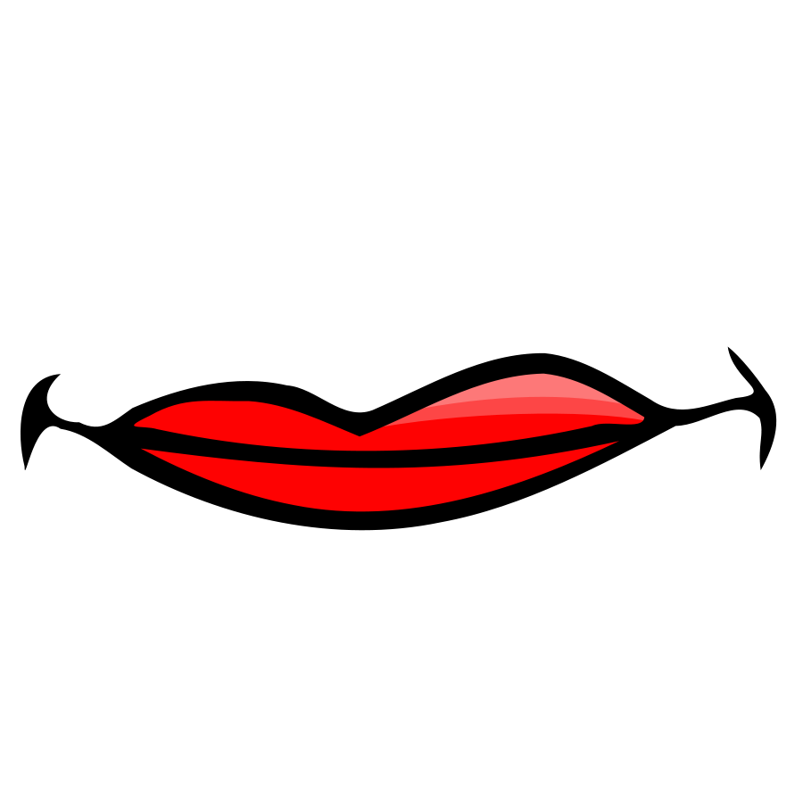 lip%20clipart%20black%20and%20white