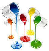 Paint Box Color Mixing