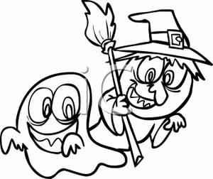 Halloween Clip Art Black And White   Clipart Panda - Free ...  Kids
