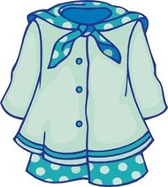 Little Girl Dress Clipart | Clipart Panda - Free Clipart Images
