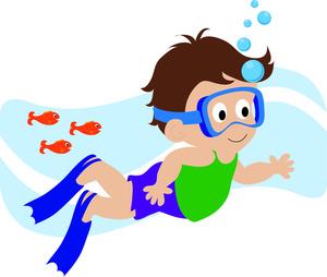 Little Girl Swimming Clipart   Clipart Panda - Free ...  Little