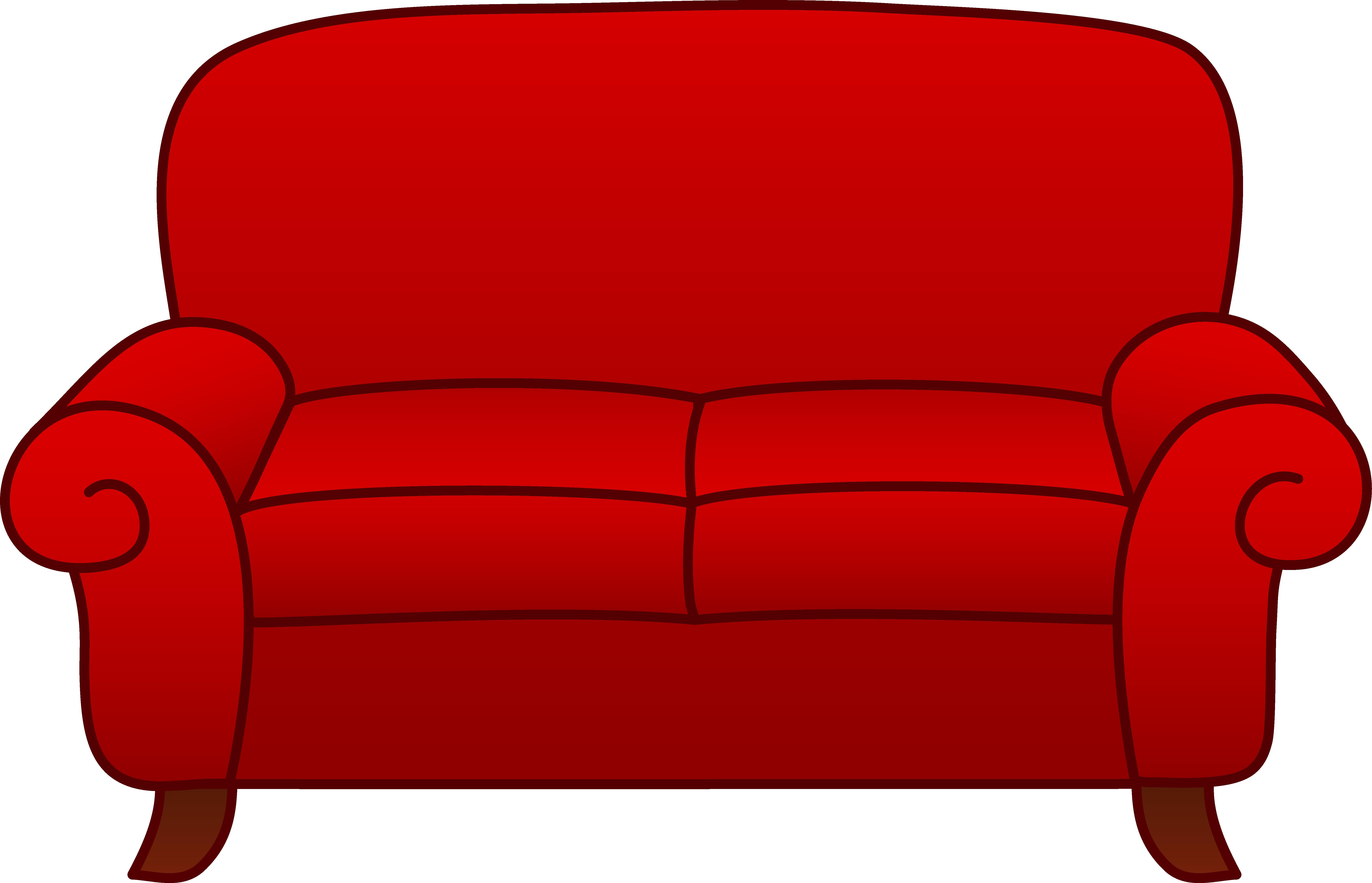 Red Sofa Clip Art Clipart Panda Free Clipart Images
