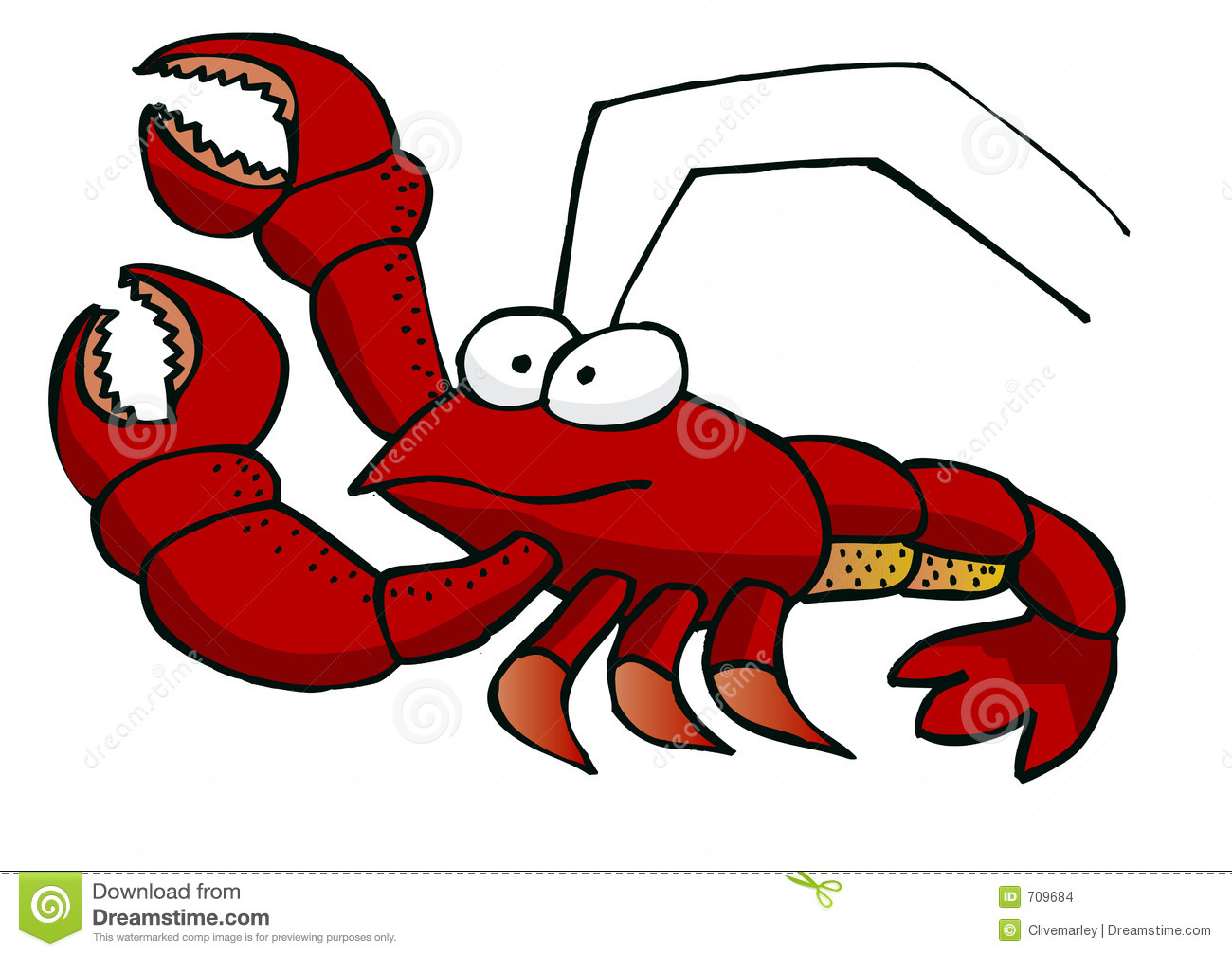 funny lobster clipart - photo #1