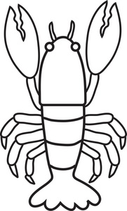 Lobster Clipart Image: Lobster