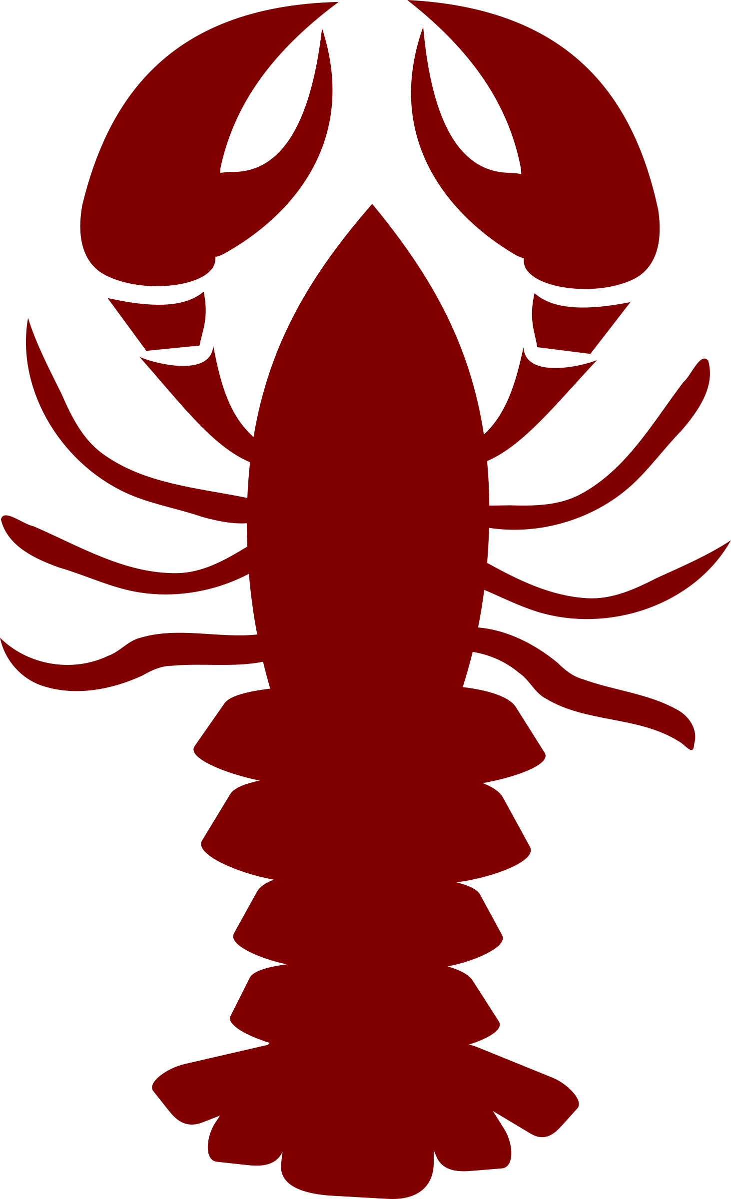 Lobster Clip Art Black And White | Clipart Panda - Free ...