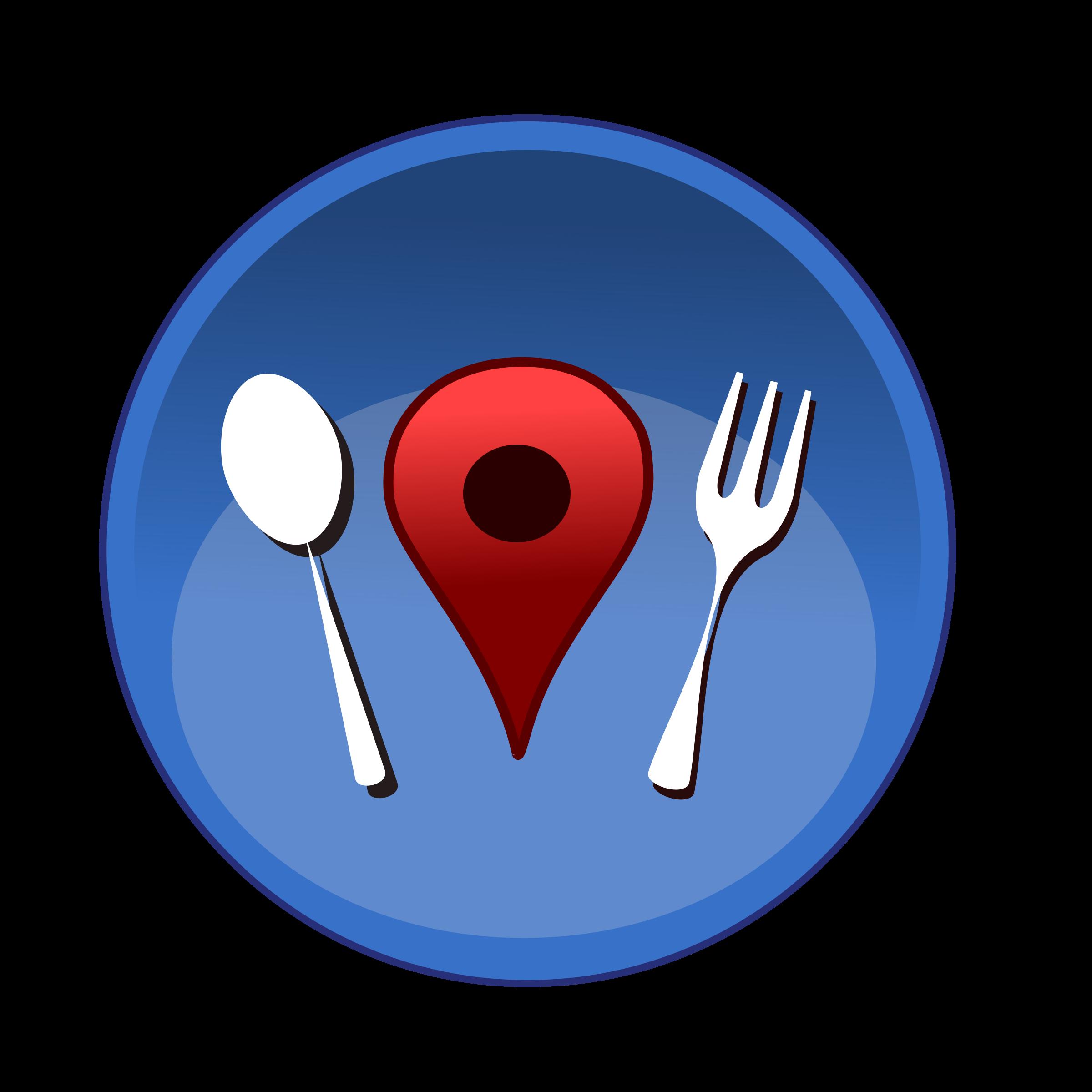 Location Clipart Restaurant Map Location