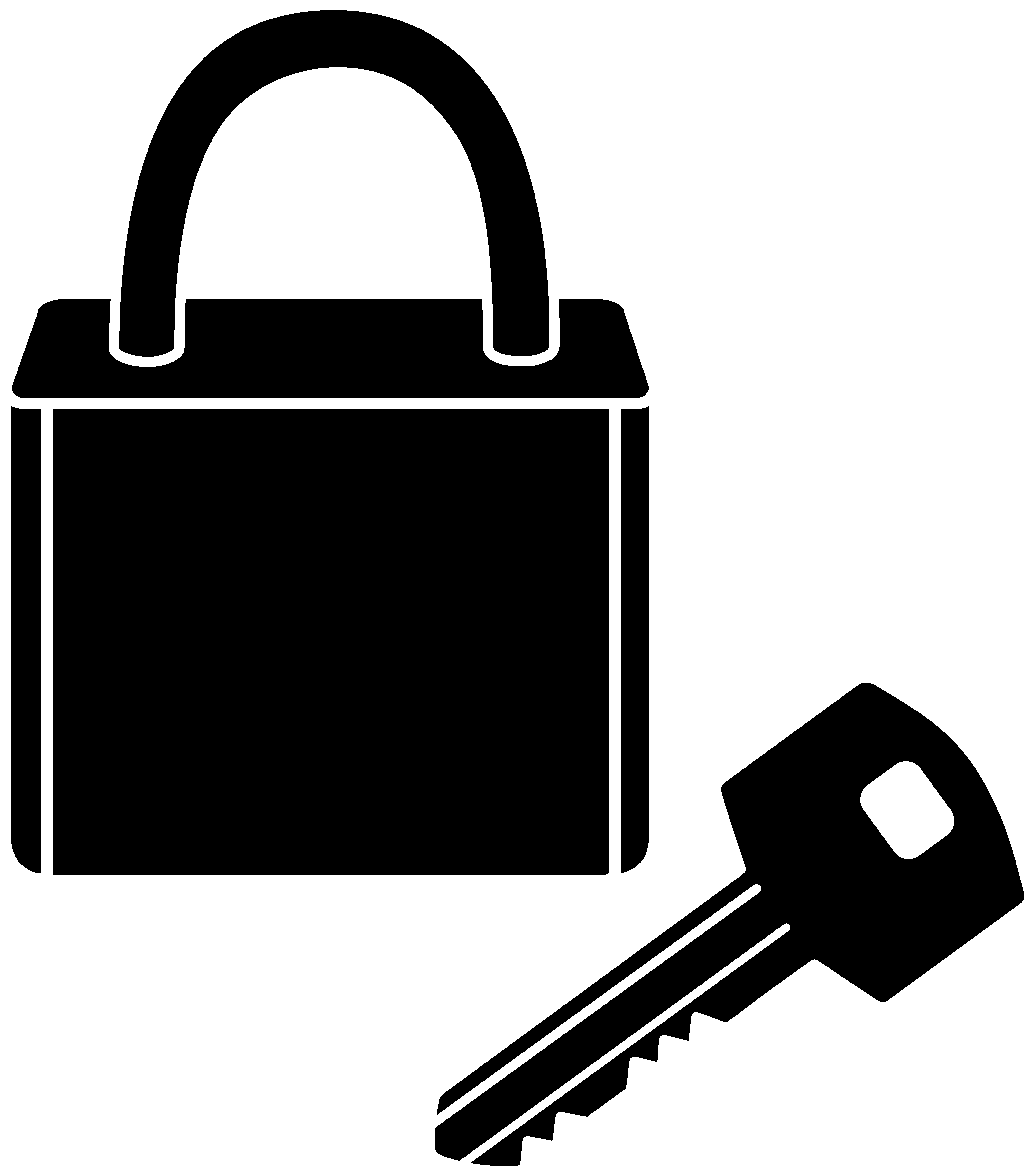 padlock and key clipart - photo #1