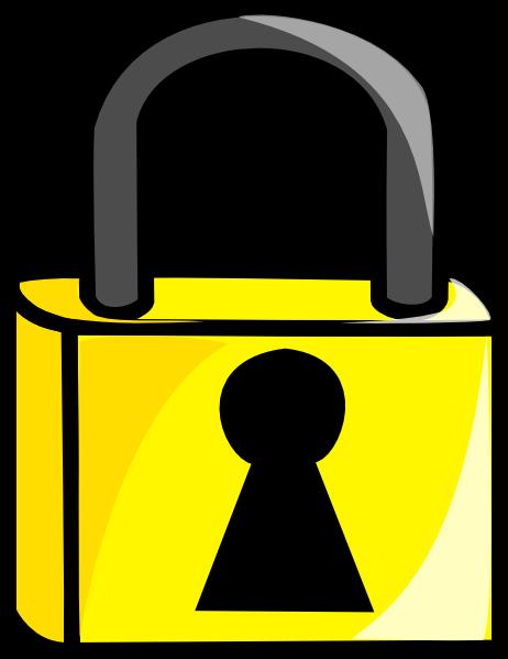 Locked Door Clipart