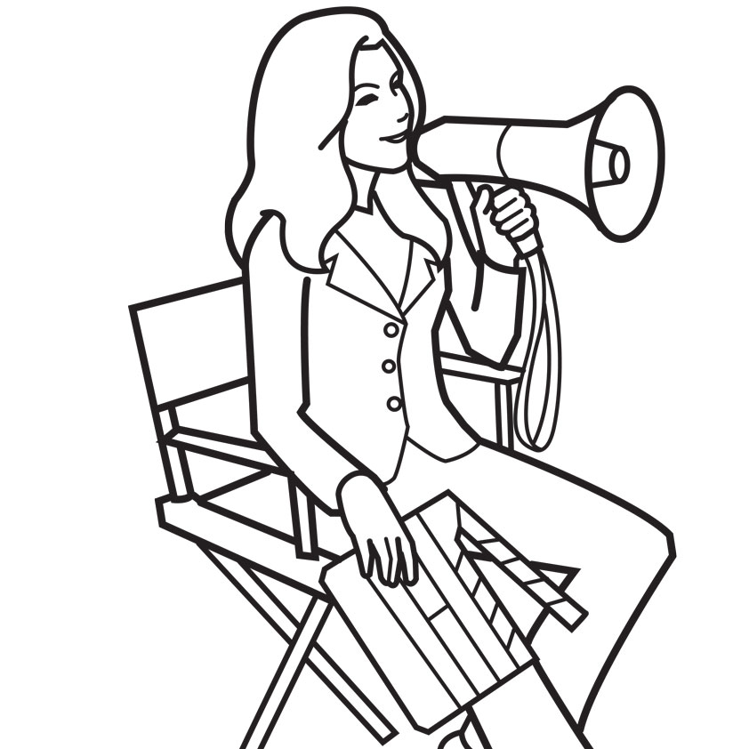 office adminstator coloring pages - photo#3