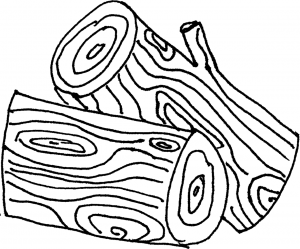log coloring pages - photo#13