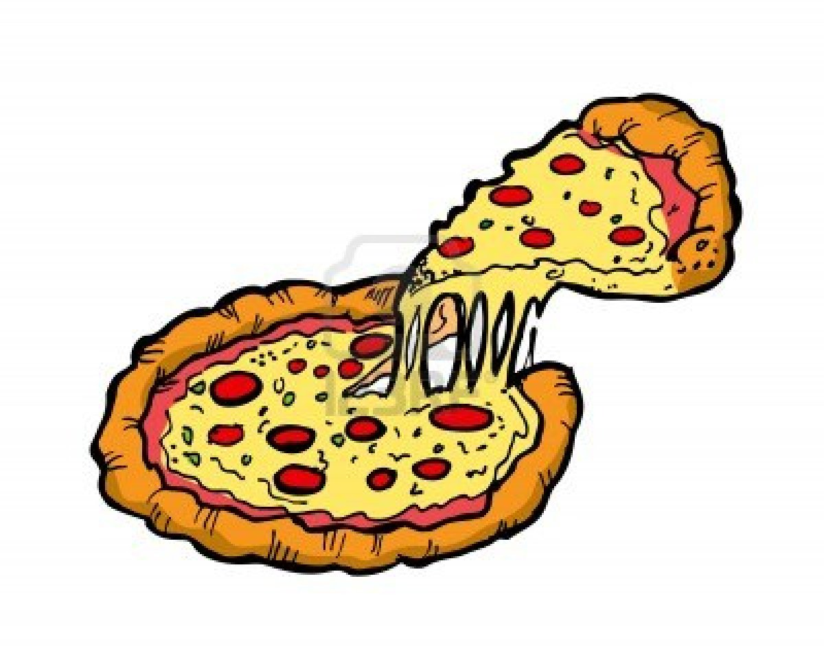loner 20clipart Cheese Pizza Clip Art