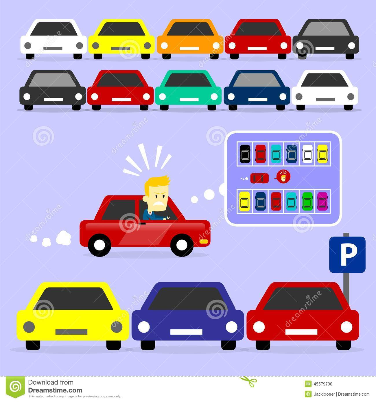 Crowded By Parked Cars