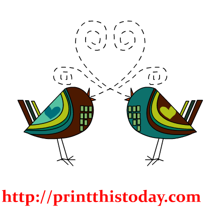 Cute Love Birds Clipart | Clipart Panda - Free Clipart Images