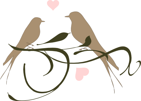 love birds clipart wedding clipart panda free clipart
