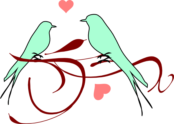 Love bird clip art - photo#6