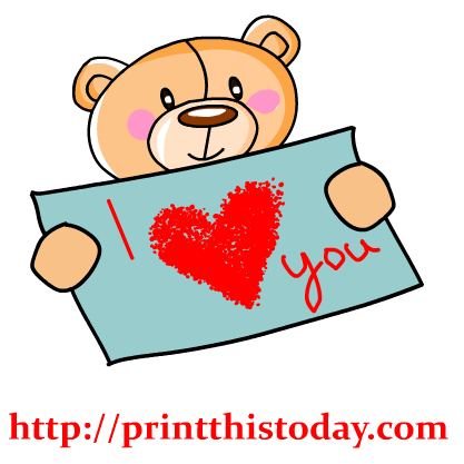 Clip Art I Love You Clip Art i love you teddy bear clipart panda free images clip art