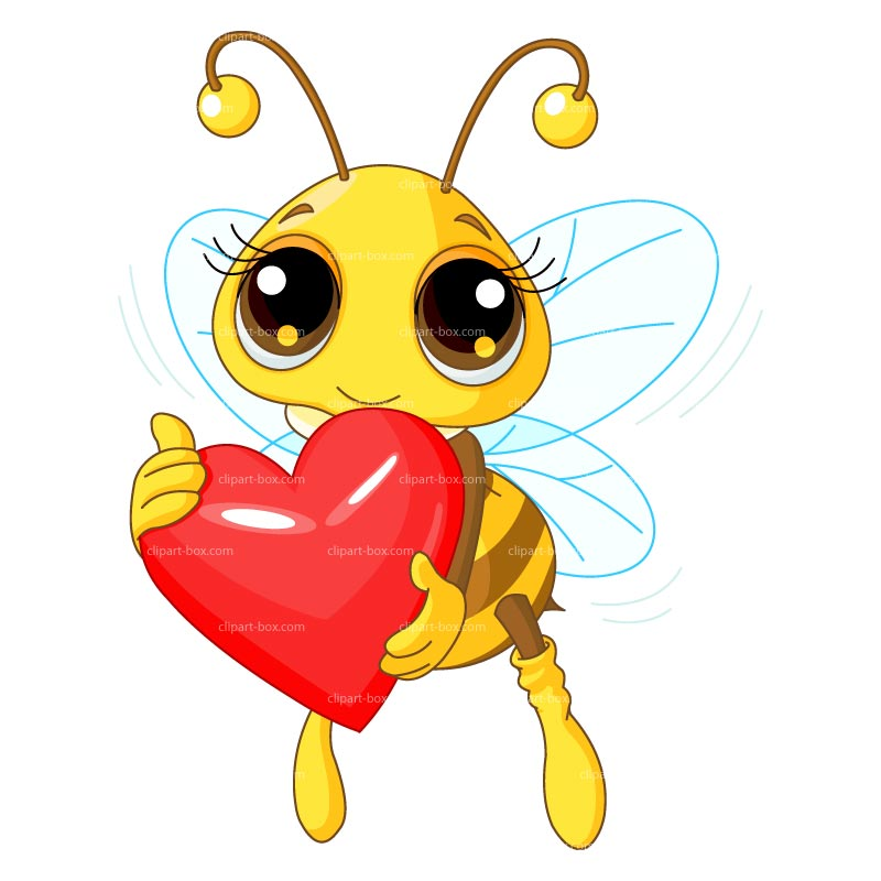 CLIPART LOVE BEE