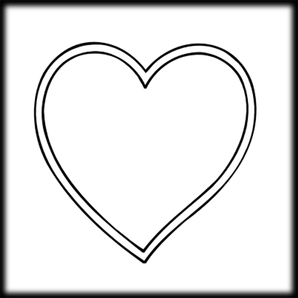 Line Art Of Heart : Hearts clipart panda free images