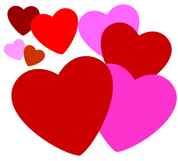 Clip Art Pink Heart | Clipart Panda - Free Clipart Images