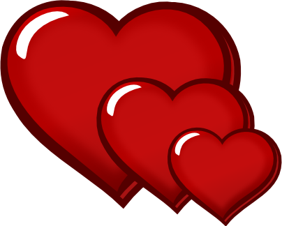 Love Hearts Clip Art | Clipart Panda - Free Clipart Images