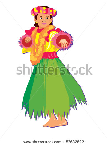 Luau Girl Clip Art | Clipart Panda - Free Clipart Images