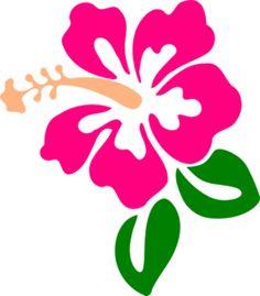 Hawaiian Luau Party Clip Art