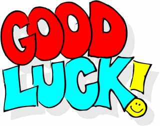 Image result for good luck clipart