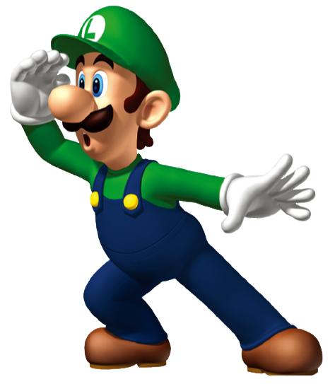 Cartoon Characters Beginning With L : Luigi clip art clipart panda free images