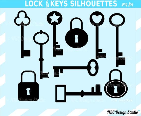 Vintage Key Clip Art