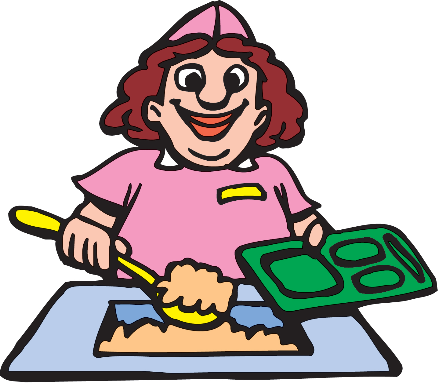 Lunch Lady Clipart | Clipart Panda - Free Clipart Images
