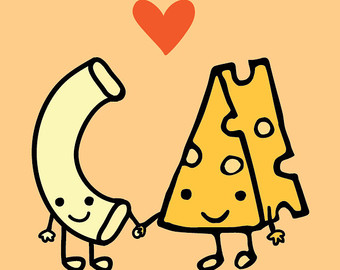 Macaroni Loves Cheese | Clipart Panda - Free Clipart Images
