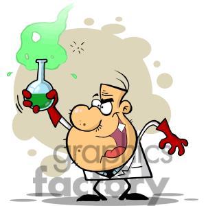 Mad Science Lab Clip Art
