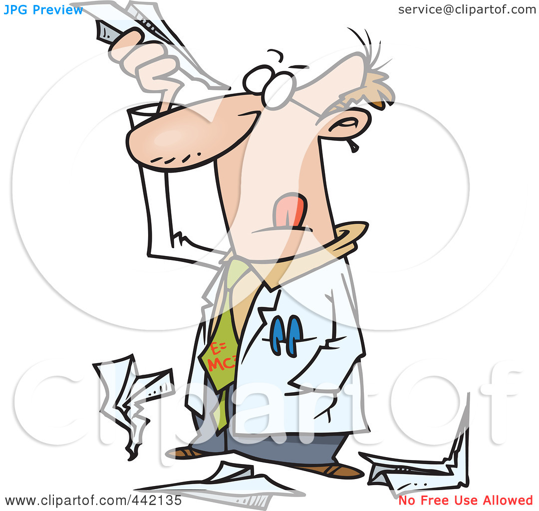 Pics Photos - Cartoon Clipart Picture Of A Mad Science Teacher