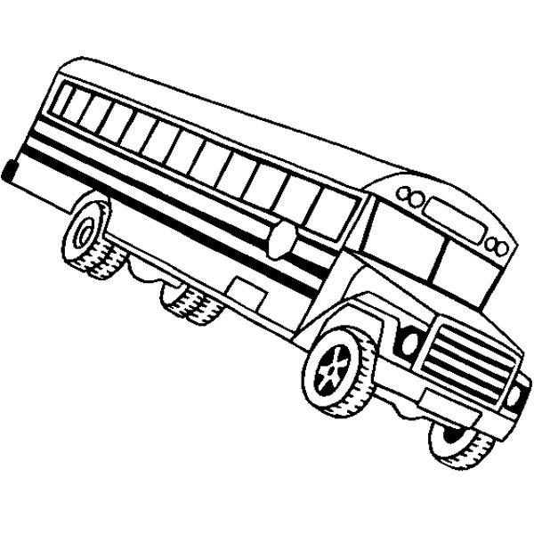Magic School Bus Coloring Page Clipart Panda Free Clipart Images