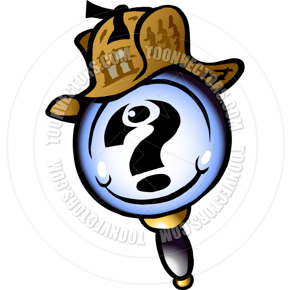 clipart magnifying glass detective - photo #32