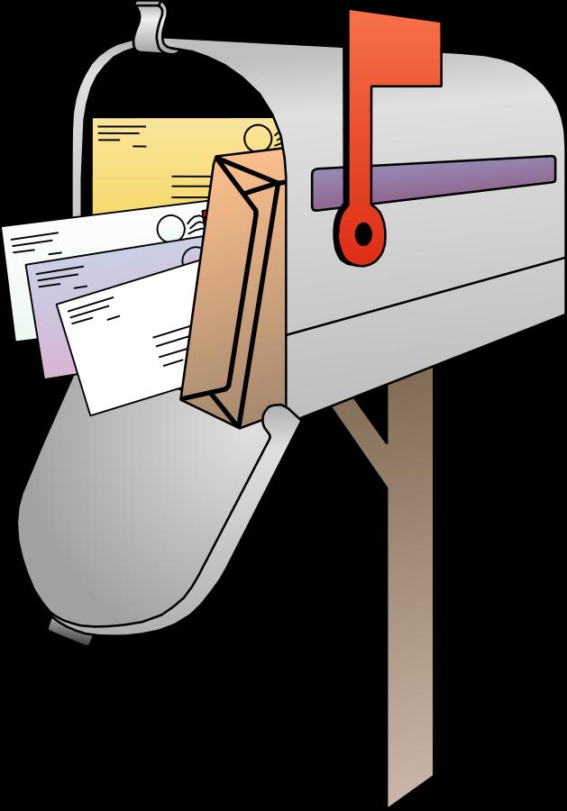 Clip Art Mailbox with Address