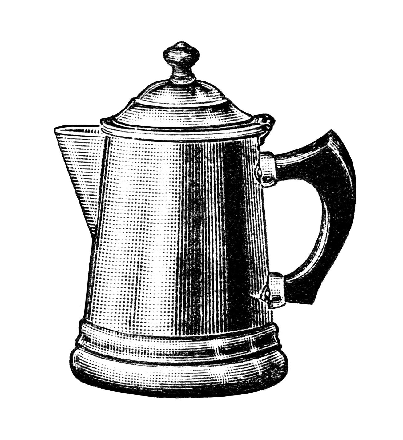 Antique Illustration Coffee
