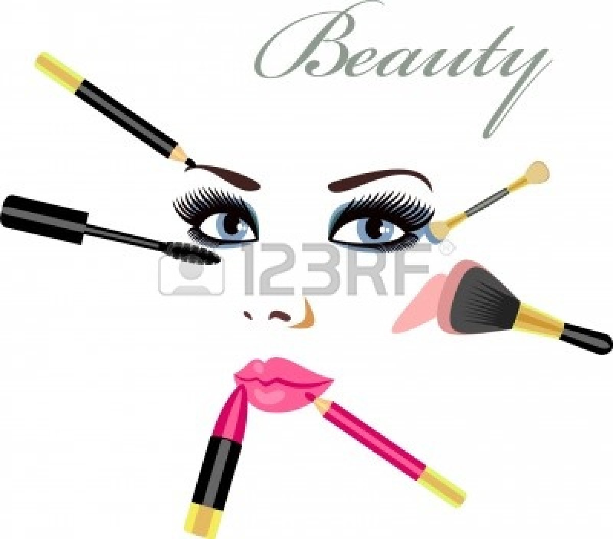 Makeup 20clipart | Clipart Panda - Free Clipart Images